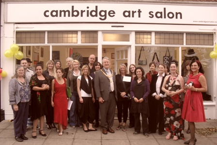 Cambridge Art Salon Opening