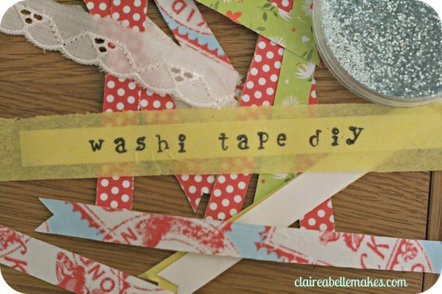 3 Washi Tape DIYs