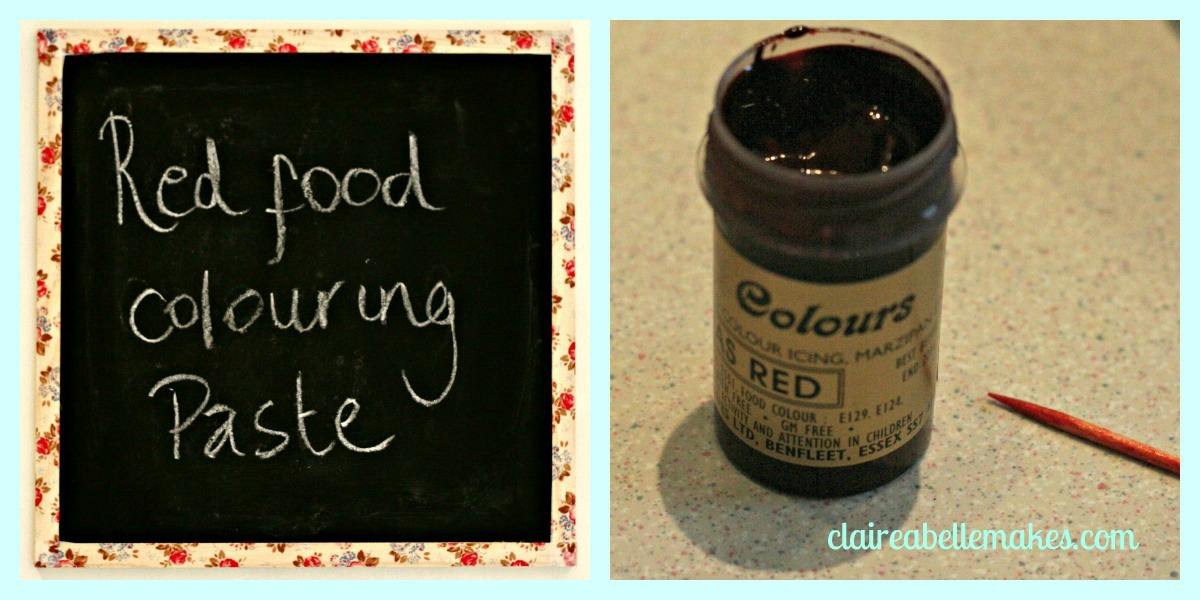 Red Velvet Brownie Ingredients 2