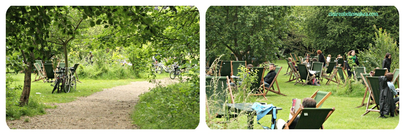 A bicycle ride afternoon tea for Garden rooms cambridge