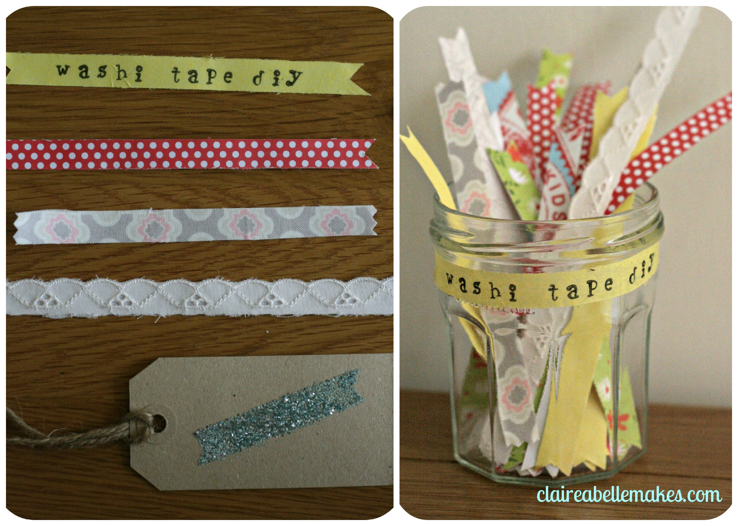 3 Washi Tape DIYs: claireabellemakes