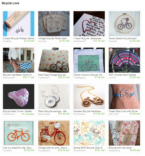 Bicycle Treasury by claireabellemakes