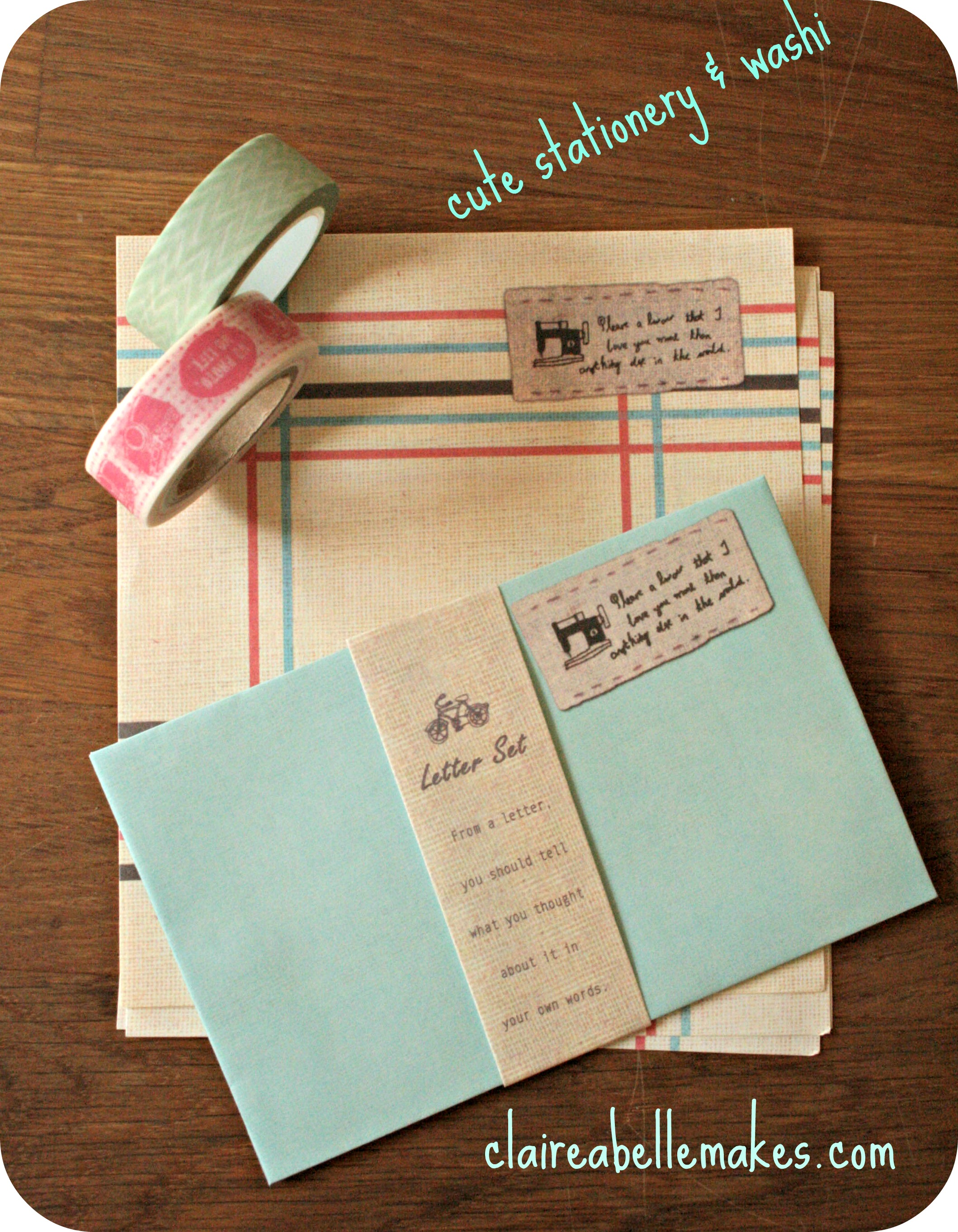 Fawn & Flora Stationery