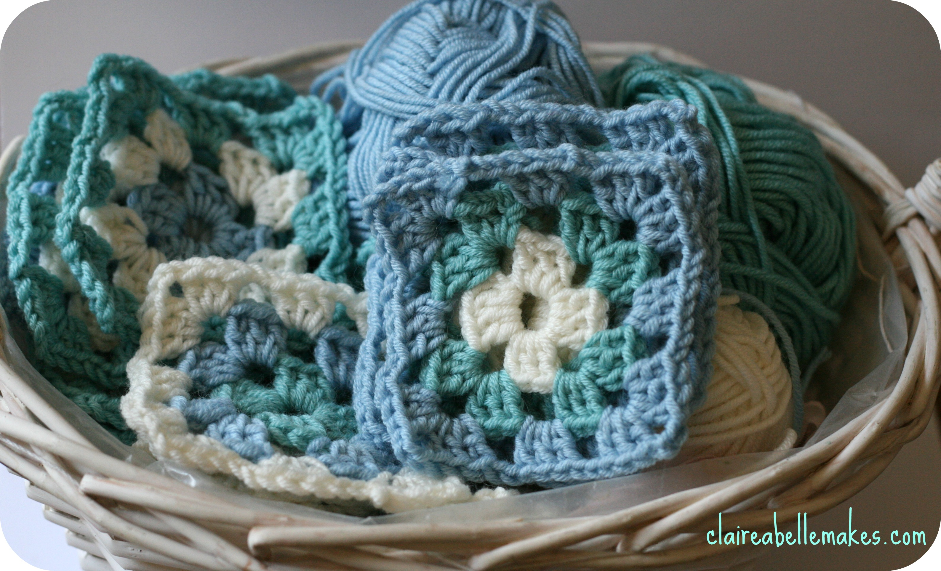 Granny Squares by claireabellemakes