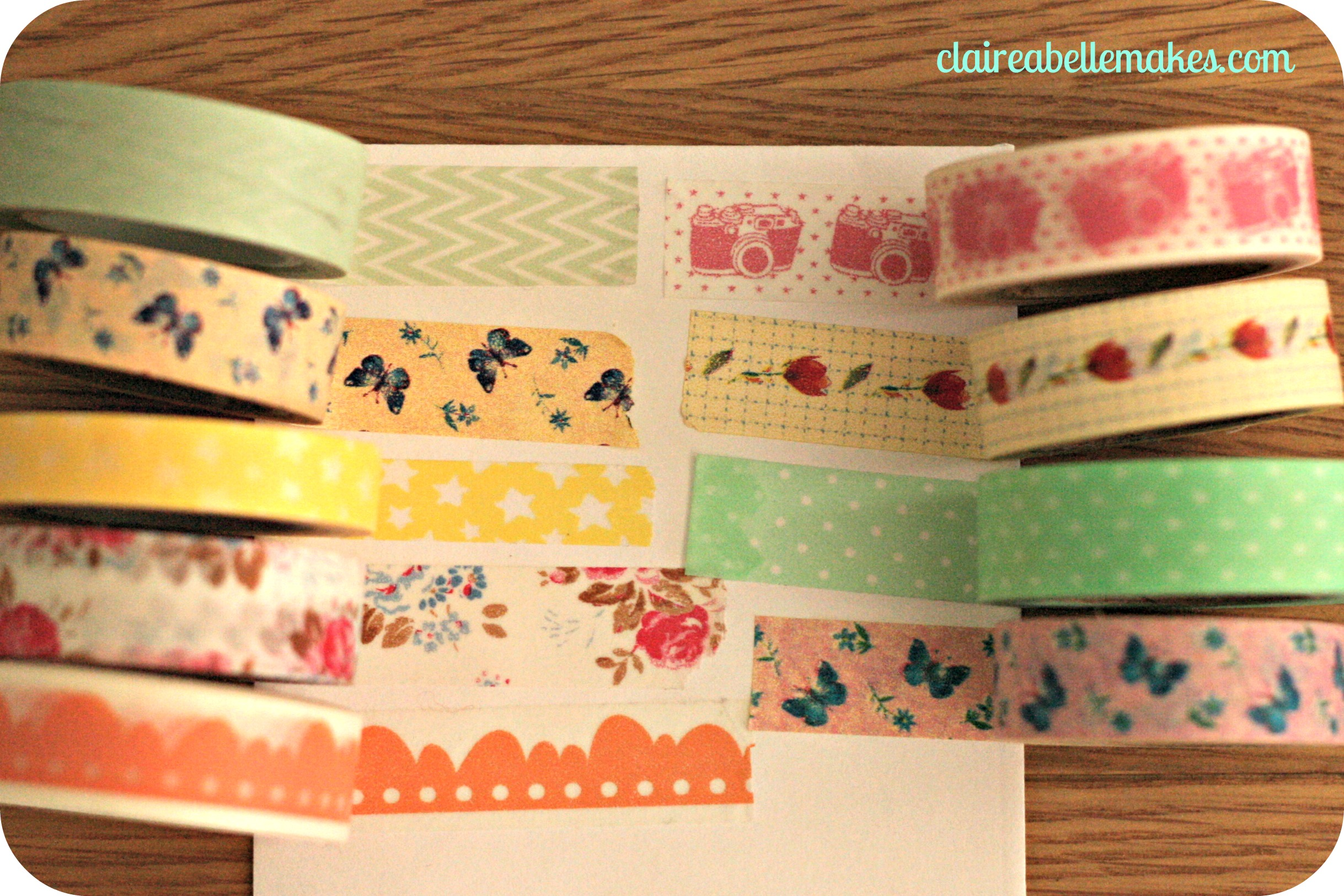 3 washi tape diys for What can you do with washi tape
