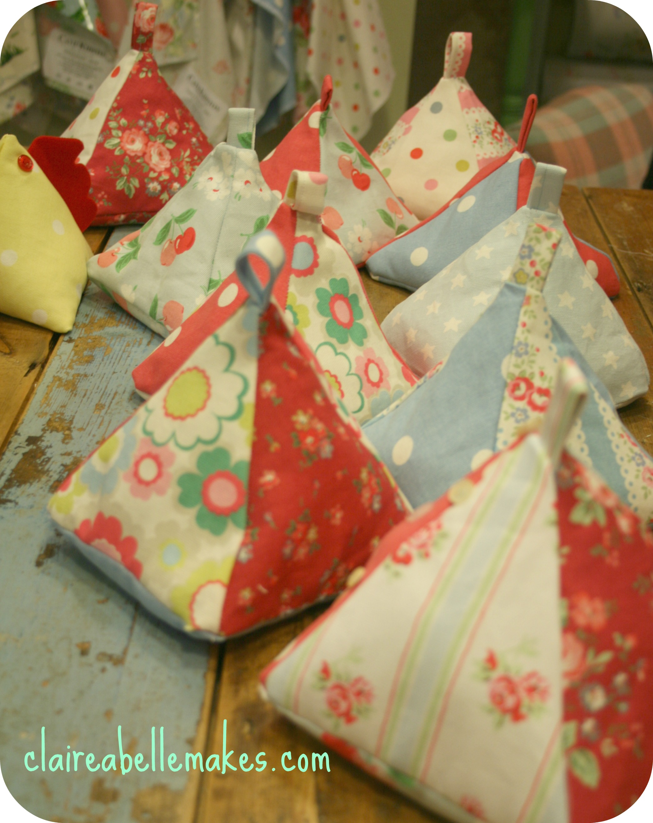 Cath Kidston Fabric Doorstop on claireabellemakes