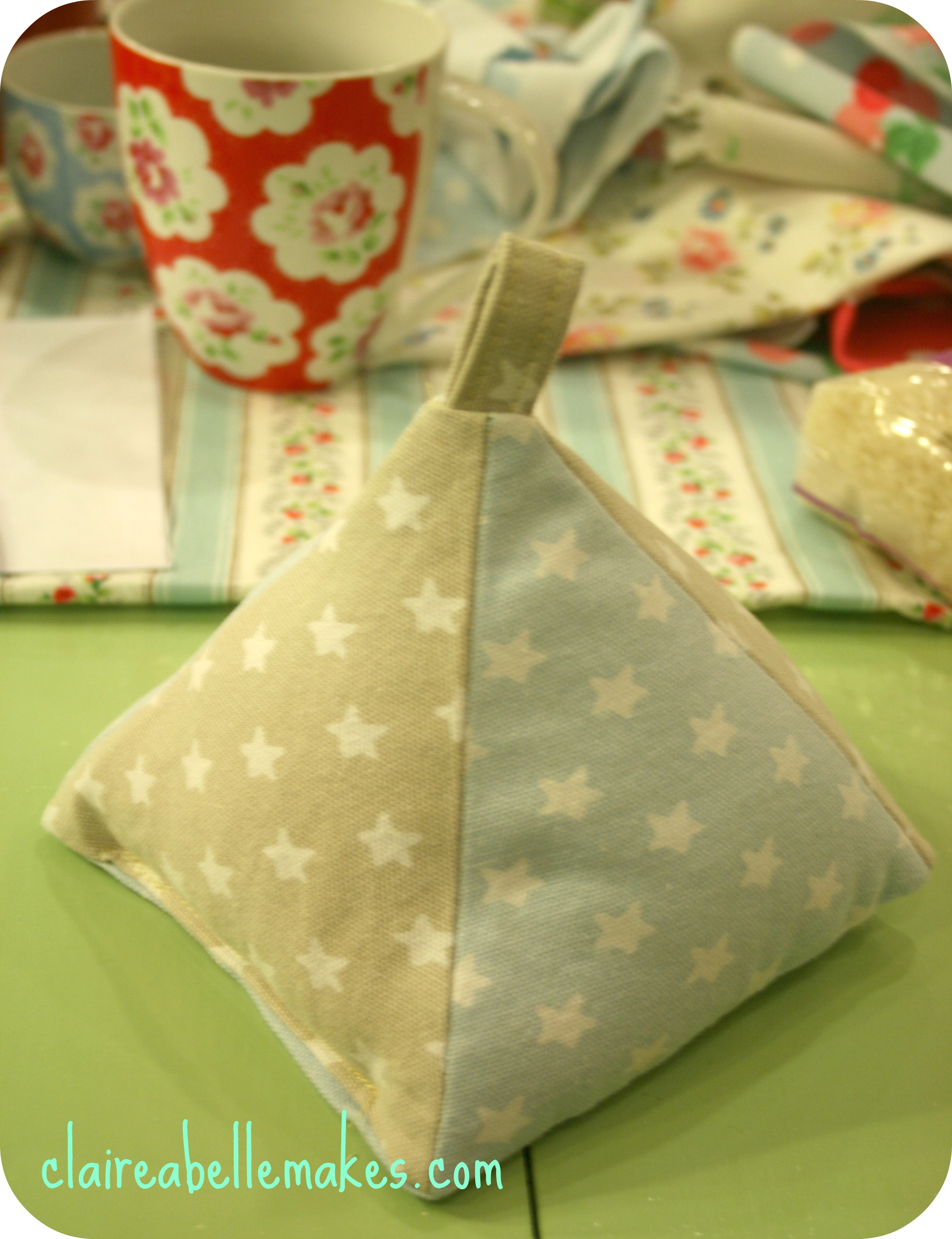 How To Make A Door Stopper.Cath Kidston Fabric Doorstop