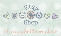 claireabellemakes Etsy shop