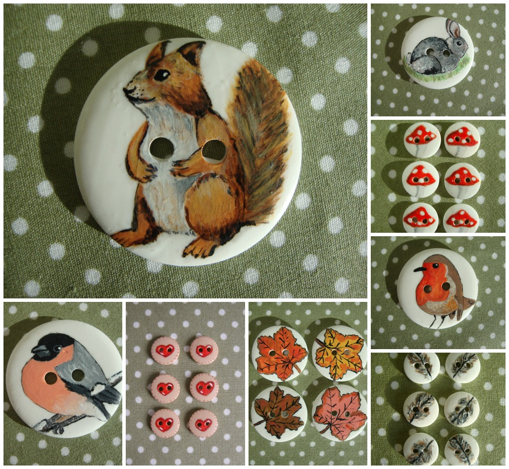 Buttons by Miss Beatrix