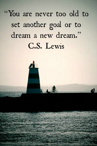 C.S. Lewis Quote | claireabellemakes