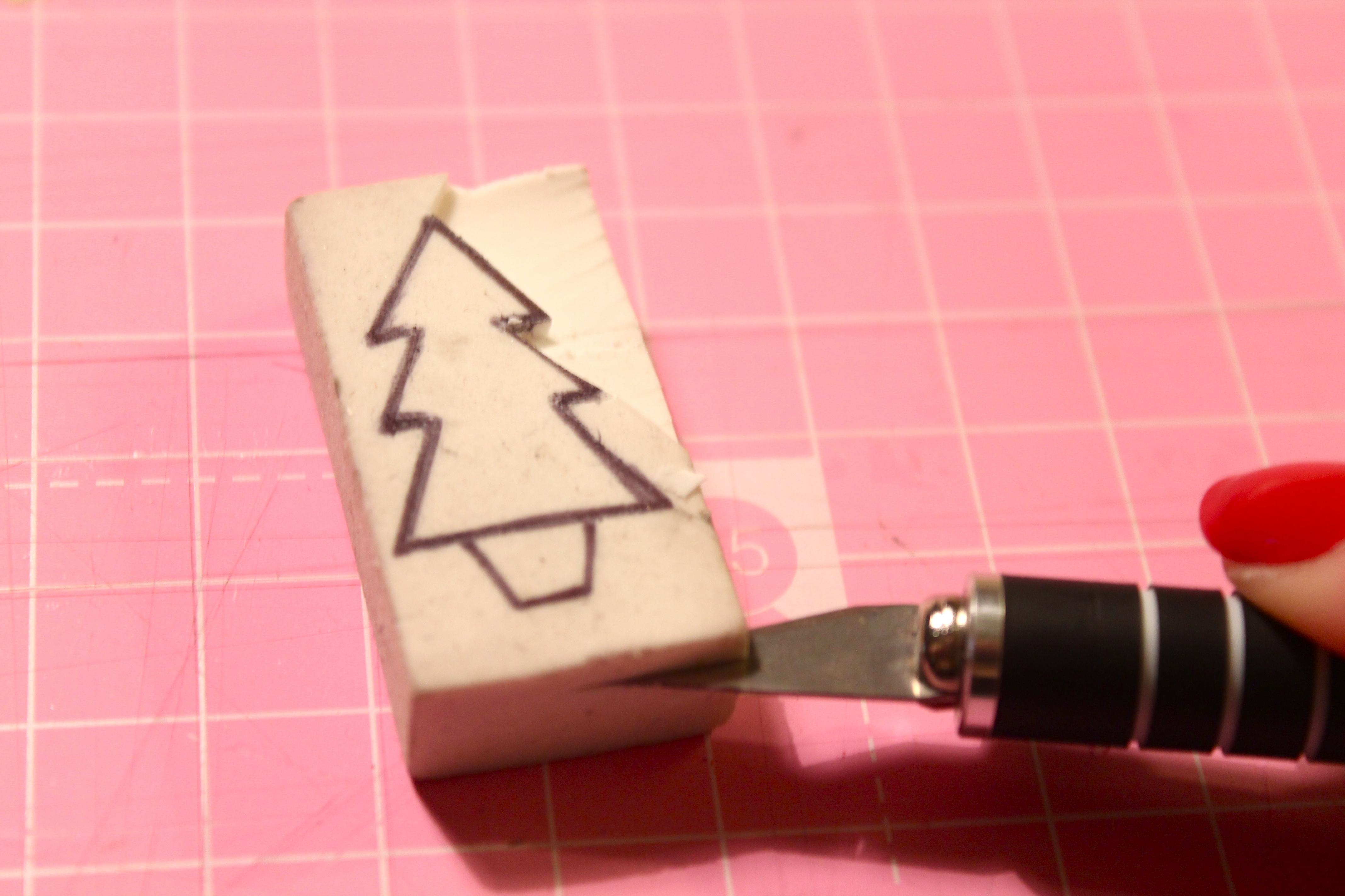 DIY Christmas Stamps