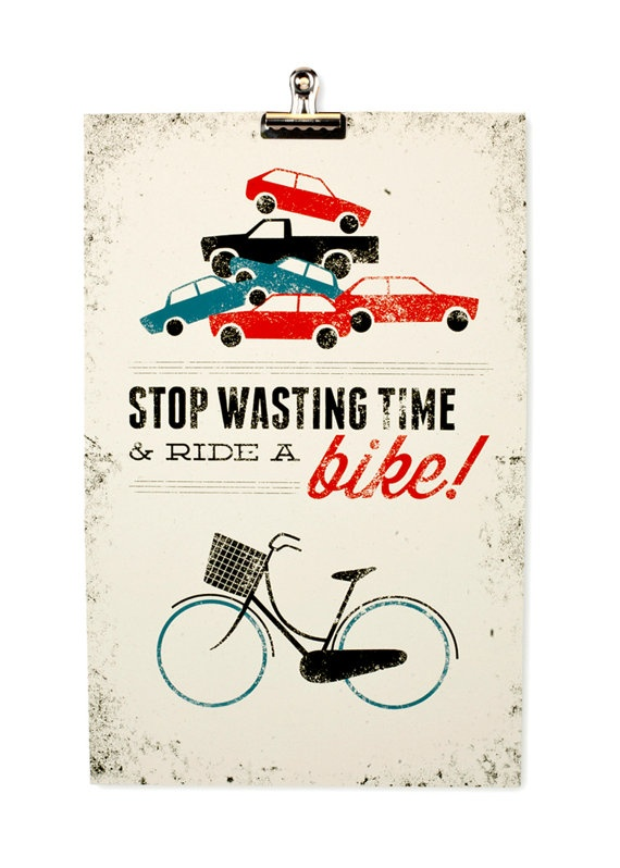 Andar de bicicleta Imprimir Etsy