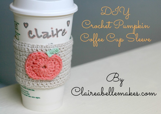 crochet-pumpkin-coffee-cup-sleeve