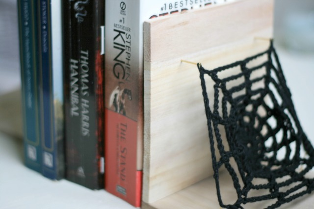 DIY Horror Themed Bookends Claireabellemakes 0