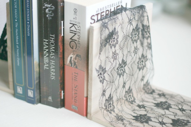 DIY Horror Themed Bookends Claireabellemakes 13