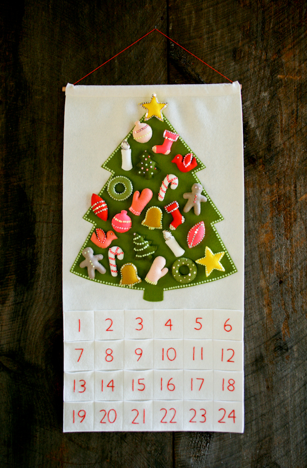 make your own advent calender