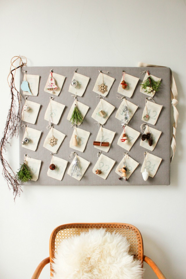 10 diy advent calendar ideas for Diy christmas advent calendar ideas